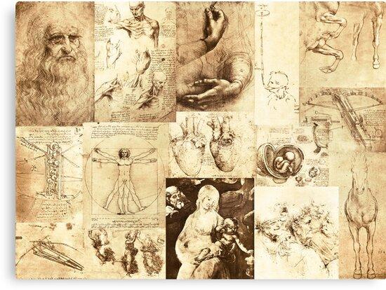 The inventive mind of Leonardo Da Vinci by David Carton