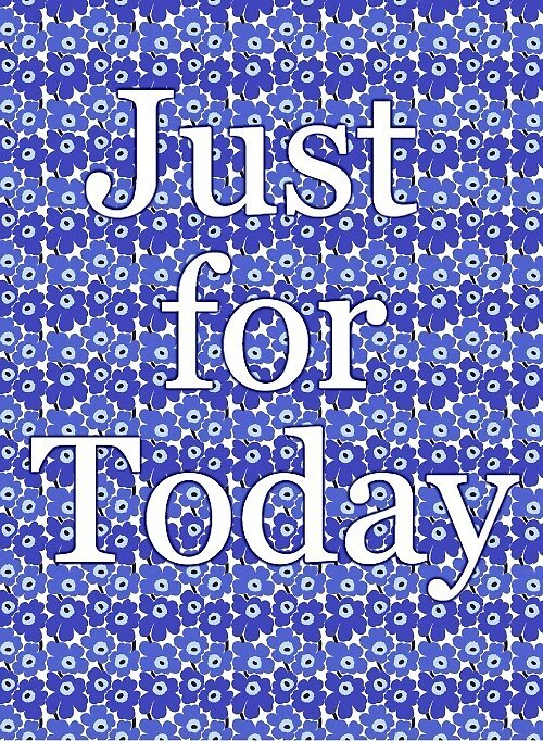 Just for Today by Nancy Jewell