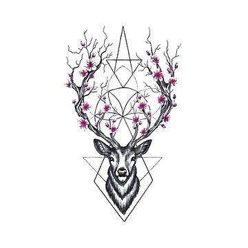 Deer by Valooid