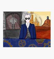 12th Doctor Rebel Time Lord  Photographic Print