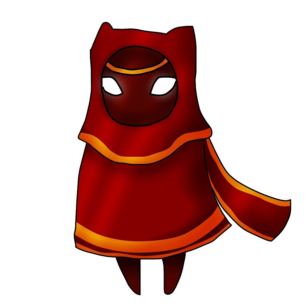 Journey Traveler Red Cloak by firewolf2545