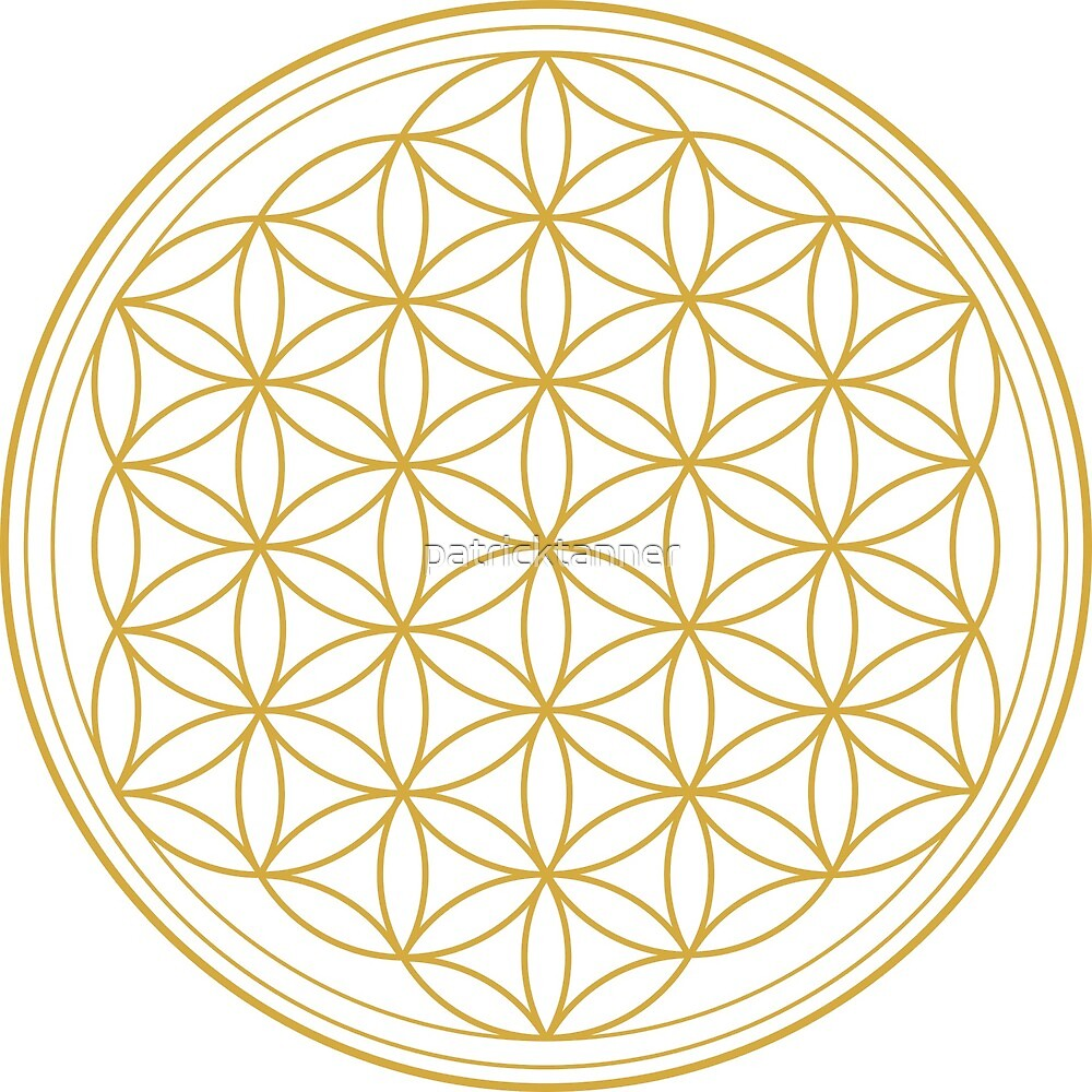 Flower of Life gold by patricktanner