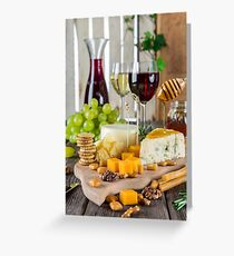 la nourriture || food  Greeting Card