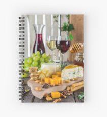 la nourriture || food  Spiral Notebook