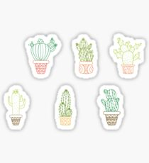 Cactus Bundle 2 Sticker