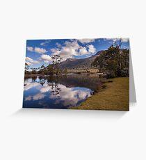 Mt Olympus Tasmania Australia Greeting Card