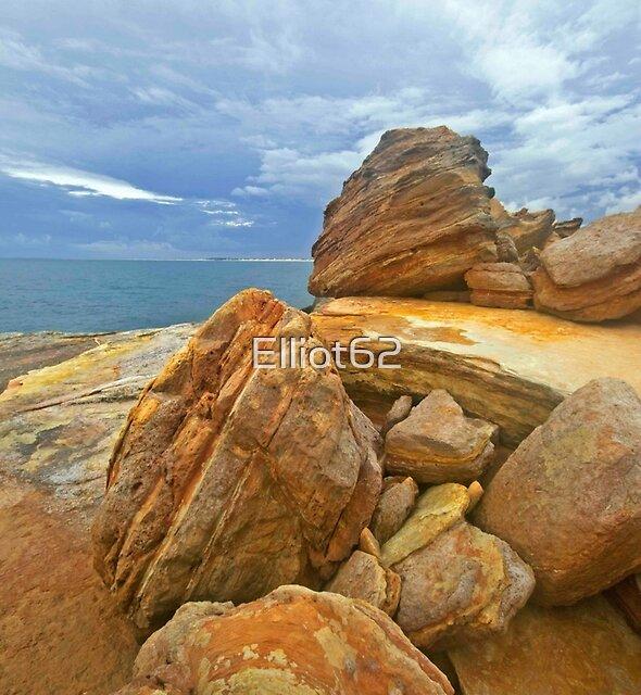 Gantheaume rock patterns  by Elliot62