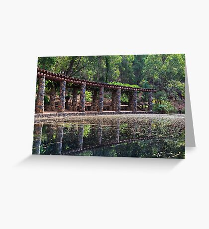 Araluen Pool Greeting Card
