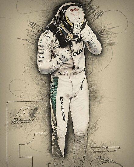 Lewis Hamilton by mcache