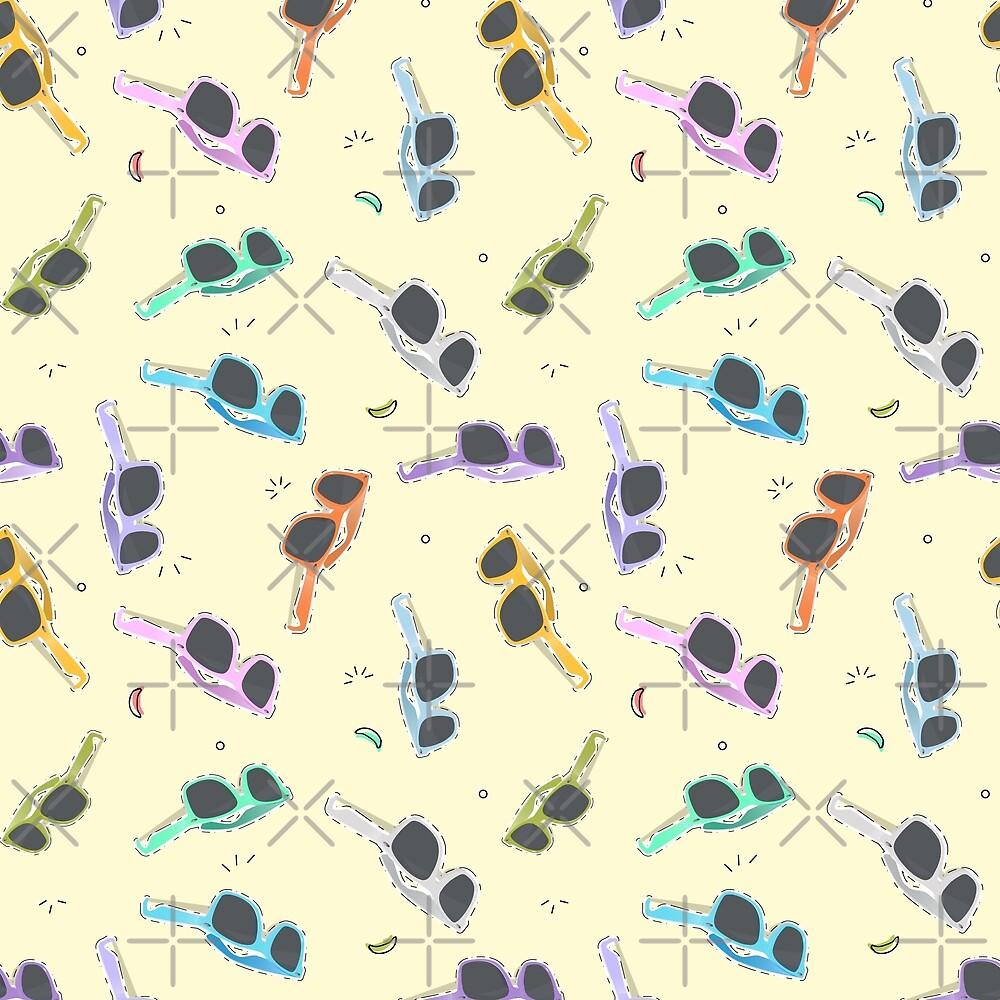 Sunglasses pattern by Milatoo