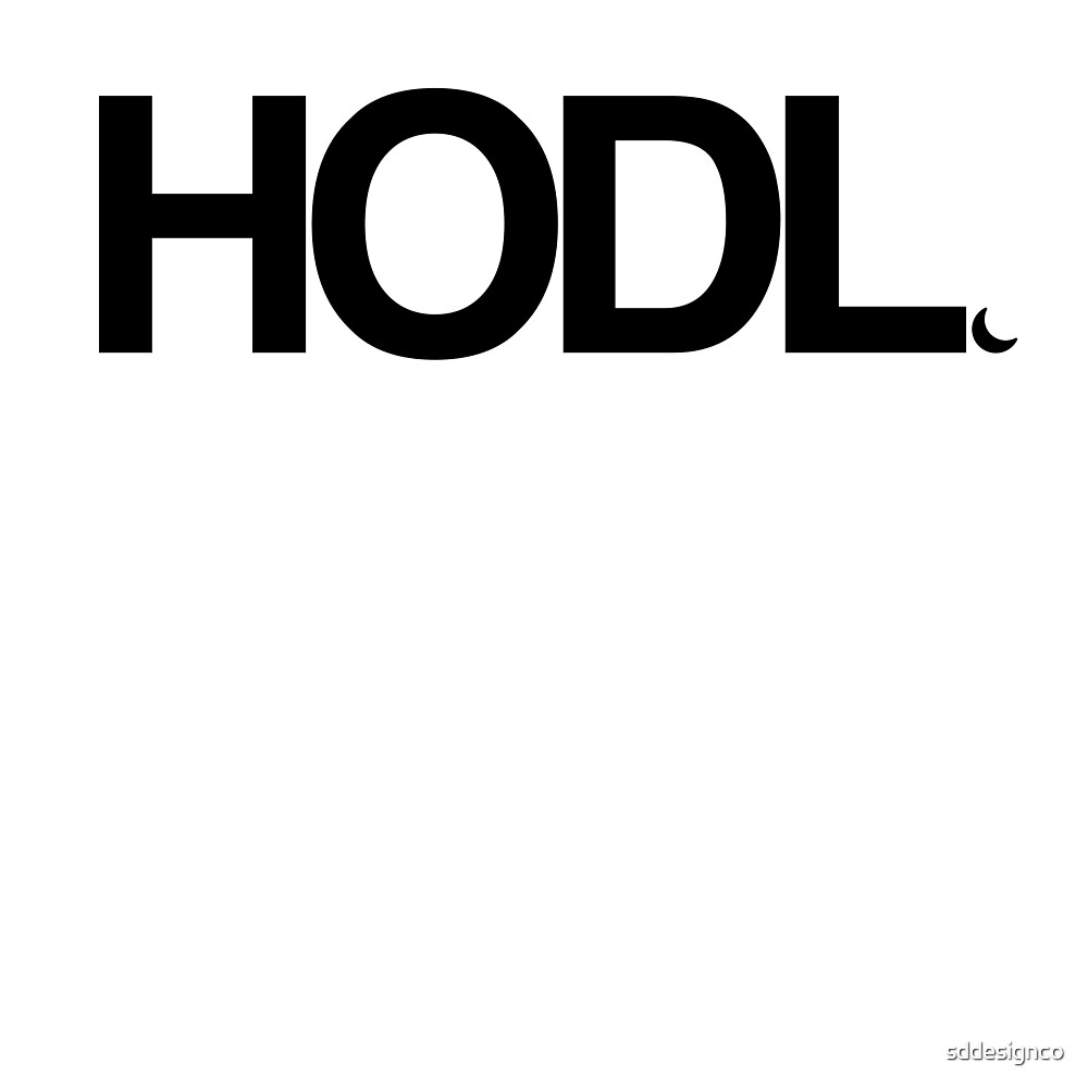 HODL - Cryptocurrency by sddesignco