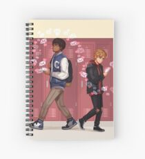 Bram and Simon Spiral Notebook