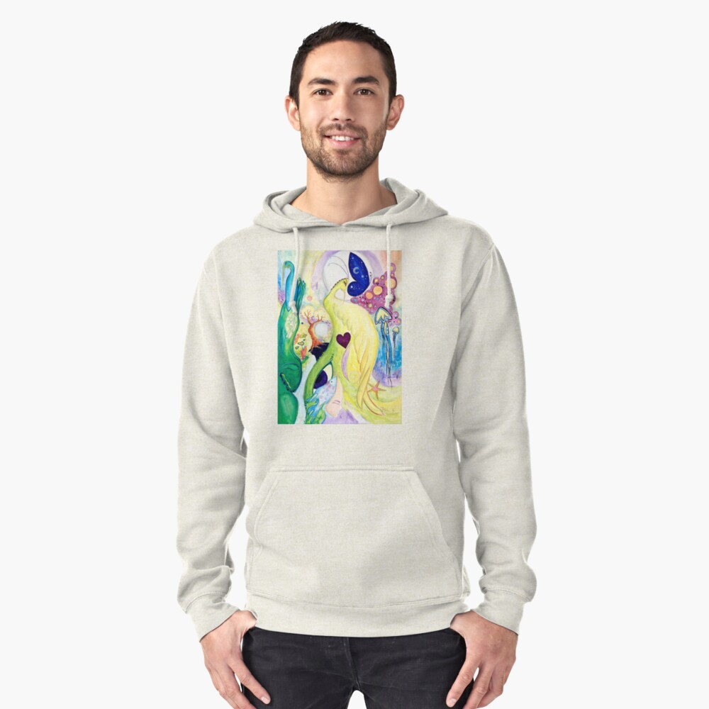 Vision Pullover Hoodie Front
