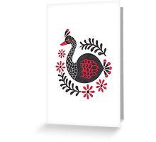 The Black Swan Greeting Card
