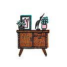 Vintage cabinet by jaqueline  storm