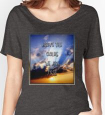 Above the clouds we are free Women's Relaxed Fit T-Shirt