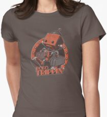 Robo Trippin Women's Fitted T-Shirt