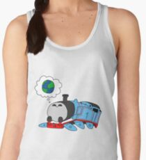 'The little blue engine who wanted to see the world' - Thomas the Tank Engine Women's Tank Top