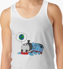 'The little blue engine who wanted to see the world' - Thomas the Tank Engine Tank Top