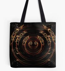 abstract gold and diamonds Tote Bag