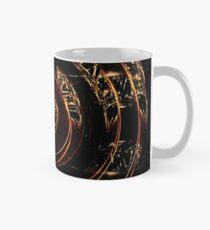abstract gold and diamonds Mug
