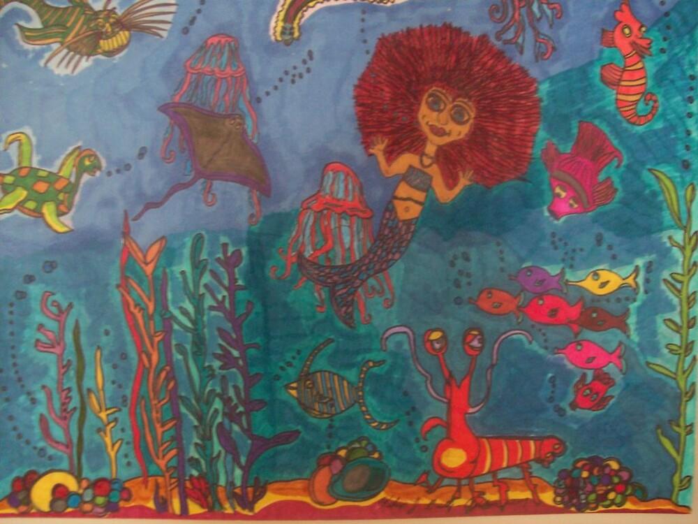 Kashlin the Beautiful Mermaid by katts