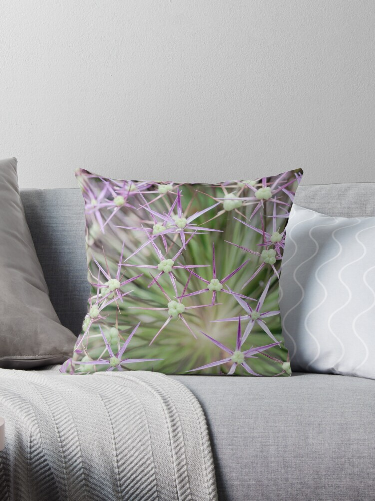 Allium flower is tough and unique by Rabbitti