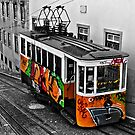 Lisbon Funicular by Stephen Knowles