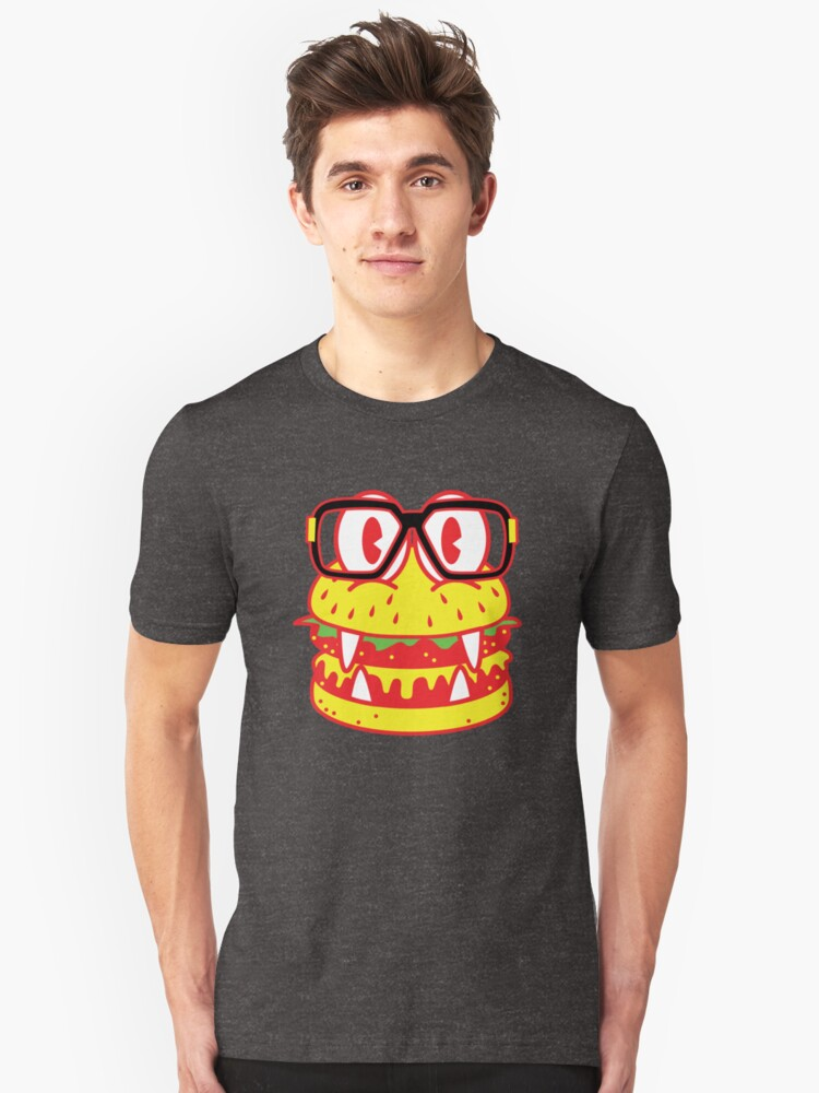 Monster Burger Unisex T-Shirt Front