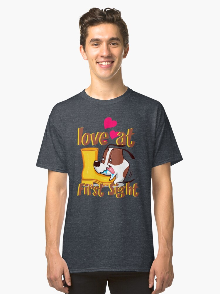 Love at First Sight Tshirt Classic T-Shirt Front