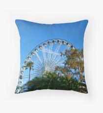Perth Foreshore Ferris Wheel Throw Pillow
