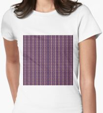 Pattern, composition, frame, texture, design, tracery, weave, drawing Women's Fitted T-Shirt