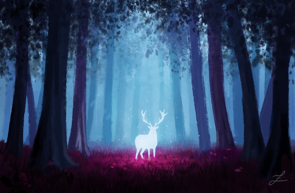 Enchanted Forest.  by zarydoesart