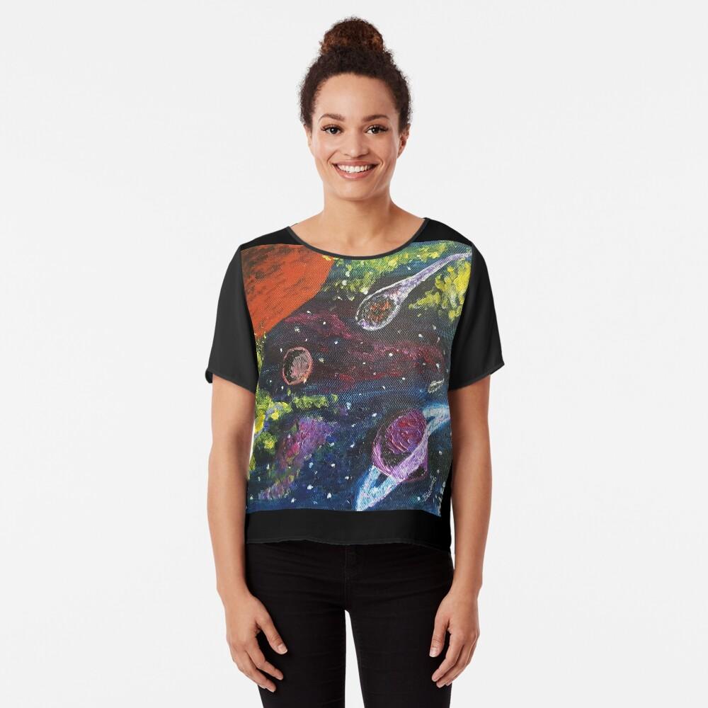 Space Chiffon Top