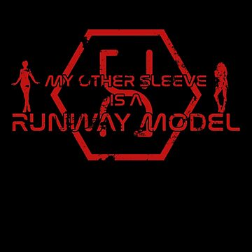 My other sleeve is a runway model - red by prunstedler