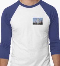 St Louis Police Skyline Men's Baseball ¾ T-Shirt