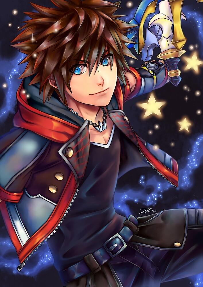 SORA Kingdom Hearts by -PSR-