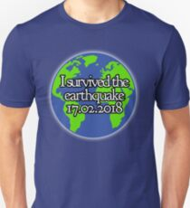 I Survived the Swansea Earthquake  Unisex T-Shirt
