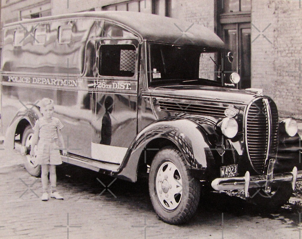 1920s Paddy Wagon by collageDP