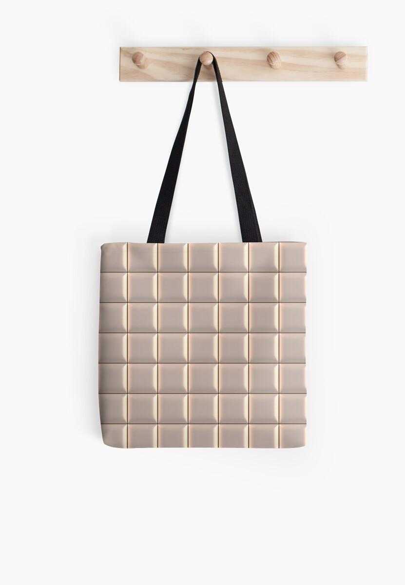 Upholstery Pattern 9, White by SummerAndSun