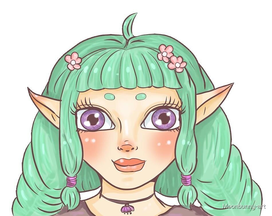 Fai the Fairy by Moonbunny-art