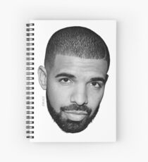 Drake - HEAD Spiral Notebook
