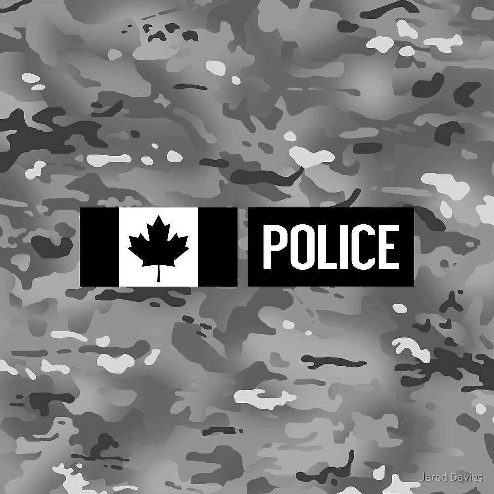 Canadian Police: Urban Camouflage by MilitaryCandA