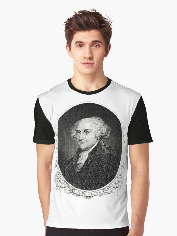 John Adams Graphic T-Shirt Front