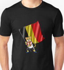 Belgium fan cat Unisex T-Shirt