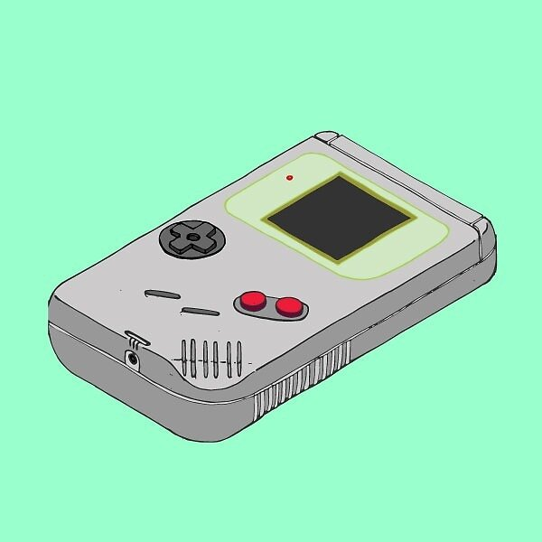 Gameboy by napiform