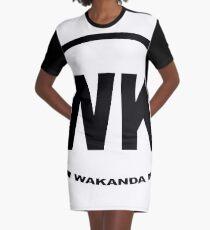 Wakanda Graphic T-Shirt Dress