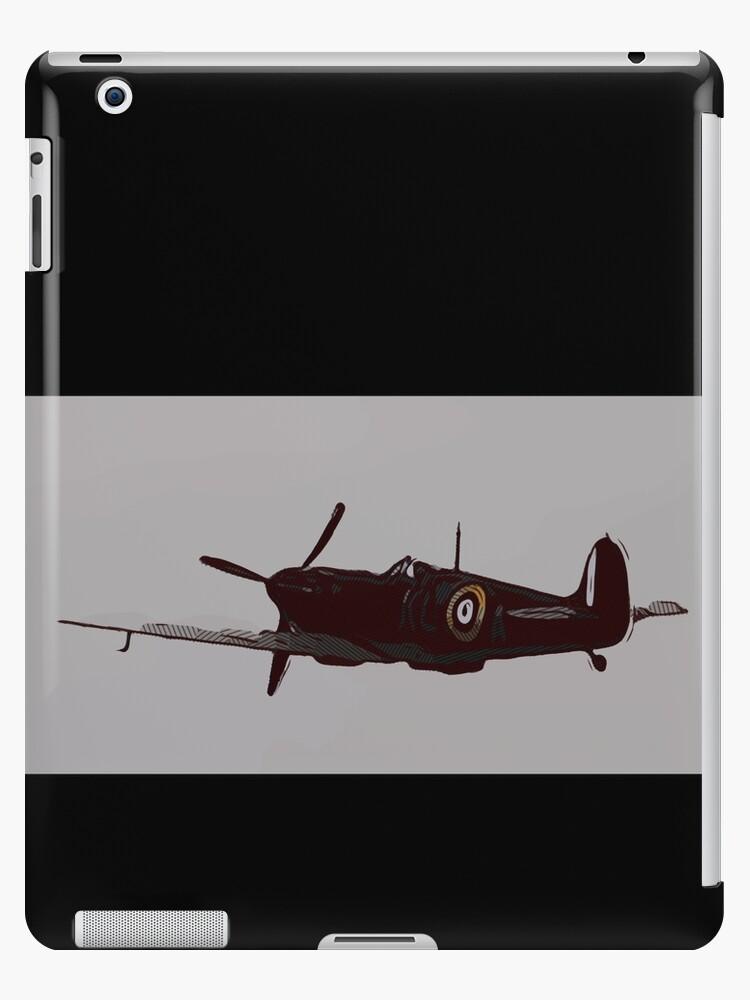 Supermarine Spitfire warbird aircraft [comics edition] by Escarpatte