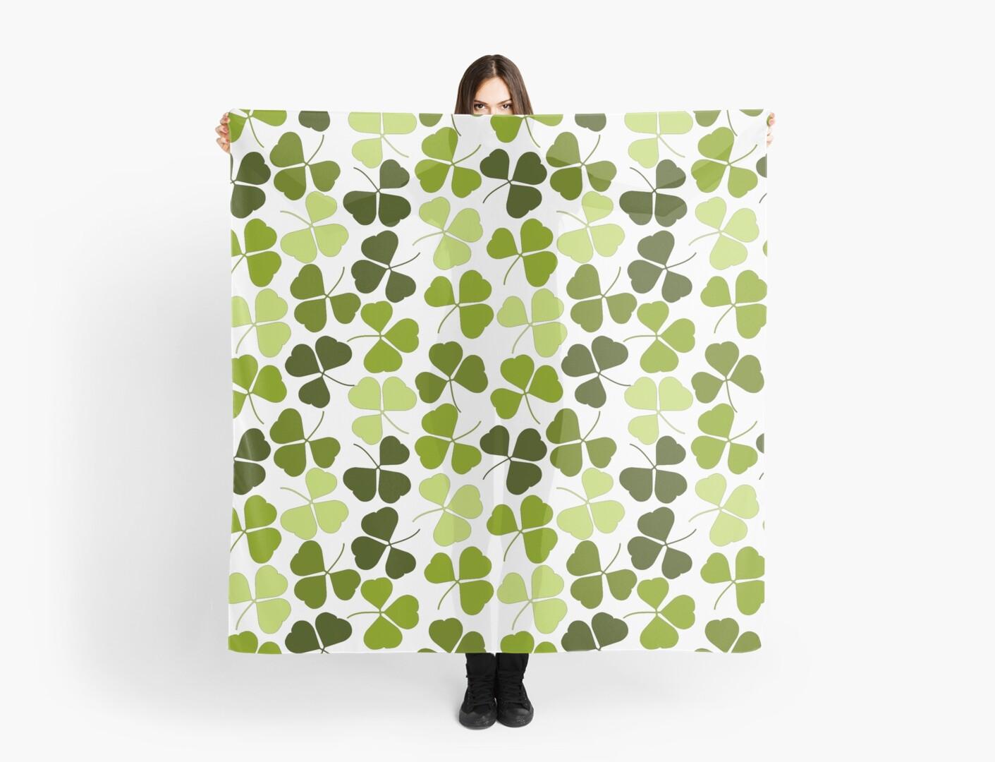 Four leaf clover pattern by RaionKeiji