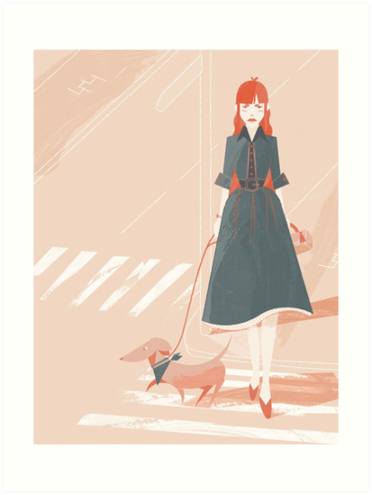 Dog Walking by gingerish
